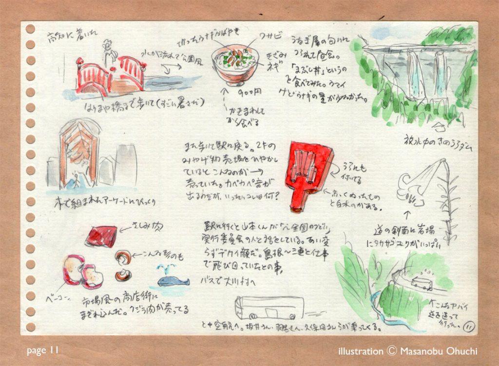 11)はりまや橋・鰻・鳴子