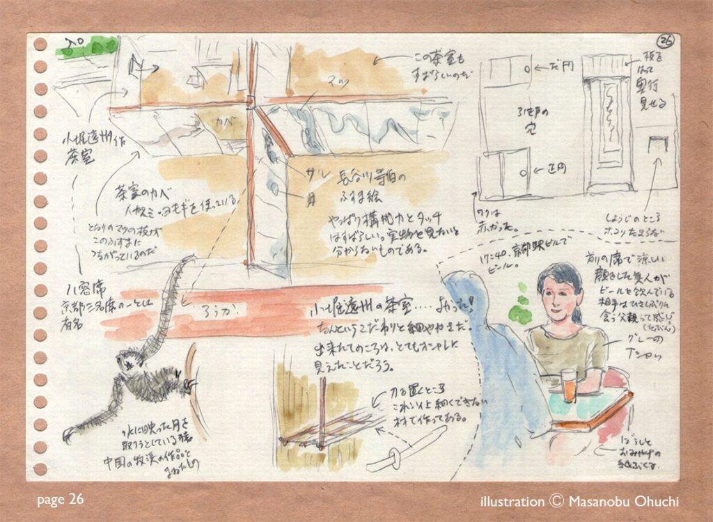 26)等伯と遠州、茶室のすばらしさ